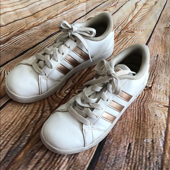 00b32683dd93 adidas Other - Adidas rose gold shoes sneakers girls running